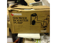monsoon booster shower pump