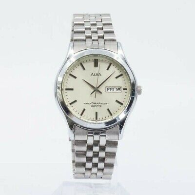 SEIKO ALBA QUARTZ V733-6C20 Watch JDM