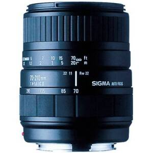 Sigma Lens 70-210mm f4-5.6 UC-II Sony A Mount Glenwood Blacktown Area Preview