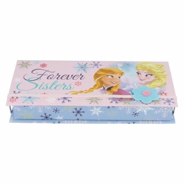 DISNEY FROZEN FOREVER SISTERS ANNA & ELSA JEWELLERY/TREASURE BOX STYLE - WD16229