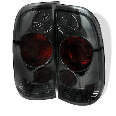 Tail Lights Ford F150 97-03 F250-550 SuperDuty 99-07 Styleside Altezza - Smoke