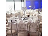Chiavari chairs hire , Ghost chair hire, Lien hire , Tables hire, Catering equipment hire,