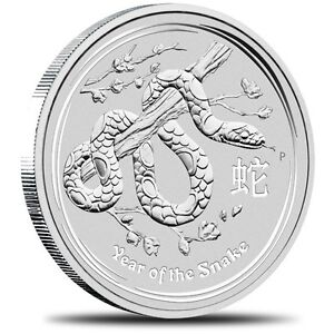 2013 10oz Year of The Snake Coin