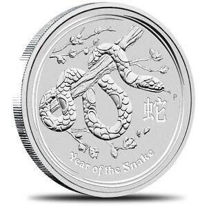 2013 RARE 2oz Snake Coin