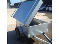 Camping Trailer with Lid