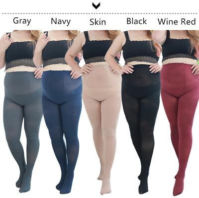Women Plus Size XL 1X 2X 3X Durable Stockings Pantyhose Lengthen Tights 5 Colors