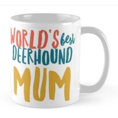 Novelty Scottish deerhound Mug, Ideal gift