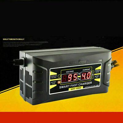 12V 6A Intelligent Schnell Blei-Säure Batterie Ladegerät für das Auto Motorrad A (Blei-säure-batterie-ladegerät)