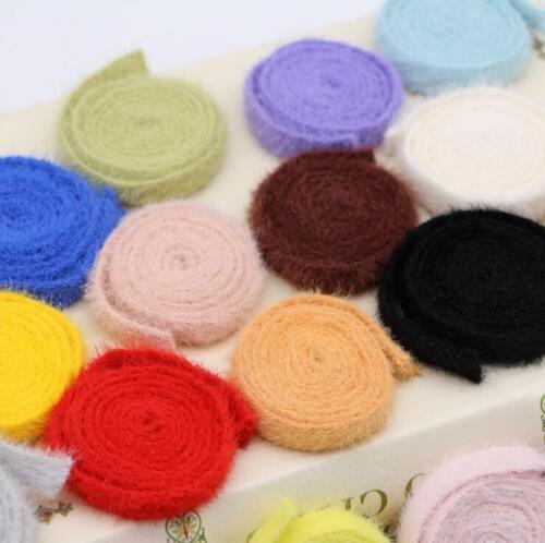 4 Yards Rabbit Hair Weaving Lace Sewing hair accessories handmade materials DIY