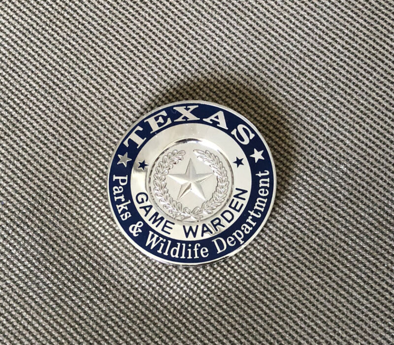 Texas Game Warden Coin Fish And Wildlife