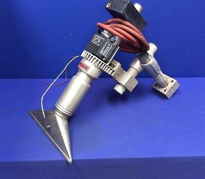 Leister Ch-6056 Kagiswil Hot Air Blower W 12w Knife Nozzle Mounting Bracket