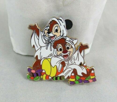 Walt Disney World Disneyland Pin - Halloween 2010 - Chip and Dale