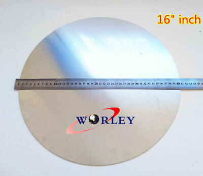 16 Inch Dia 405mm Aluminum Disc Circle Blank Plate Flat Sheet Round 2mm Thick