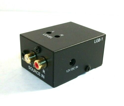 HTD LGB-1 Line Level Gain Booster Stereo Line Level Input Output Speaker