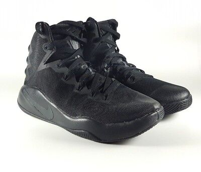 ba603a3f519c Nike Hyperdunk 2016 Basketball Shoes Sz 6Y Black Black 845120-008