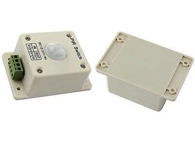 1pcs Pir Switch 8a Pir Motion Sensor Dc 12-24v For Led Strip Light Bulb Infrared