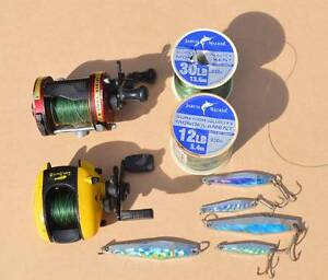 Fishing reels, line and lures Tenambit Maitland Area Preview