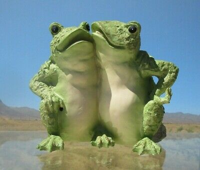 Gifts by House of Lloyd, Frog Friends, Figurine, Frogs Croak-Battery, #281483