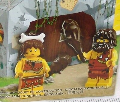 Lego 5004936 Cave Man and Woman Mini figures New