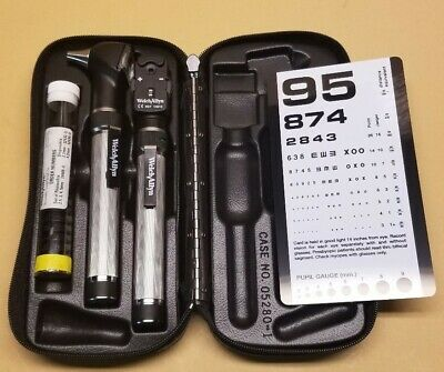 Welch Allyn Diagnostic Pocketscope Set With Otoscope And Ophthalmoscope More