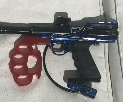 Red Knuckler Foregrip For Automag Classic - 3d Printed - Unique And Strong