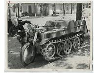 NSU Kettenkrad HK 101 Sd.Kfz 2 Poster Plakat Bild Schild Wehrmacht WW2 Affiche