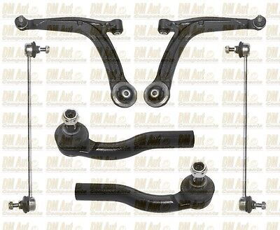 For ABARTH 500 FRONT SUSPENSION ARM + DROP LINK & TIE ROD END Outer 07-On 312