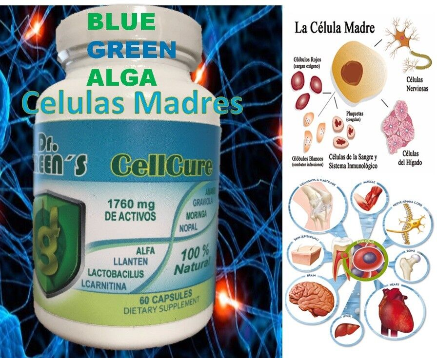 Celulas Madres Biomatrix Madre Cell Plus AFA Adult Health Stem Cell BioX bio cel
