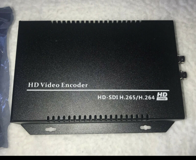 ISEEVY H.265 H.264 SDI Video Encoder 1080P IPTV Encoder for IPTV, Live Stream