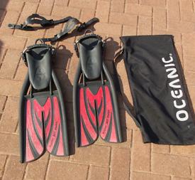 Scubapro twin jet max scuba diving flippers