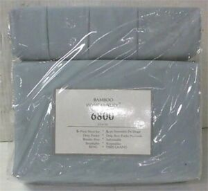 2 Sets of King Size Sheet Set  1 Blue & 1 Tan Set