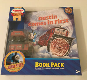 Thomas & Friends Wooden Railway - Dustin Comes in First - NEW
