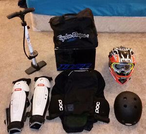 Biking Gear - Helmets, Body Armor