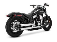 "LA Choppers Gloss Black 1.25/"" T-Bar Gauge Mount 2018-19 Harley Softail FXBB FXBR"
