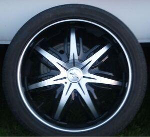 20 Inch Rim & 245/40/20 Tires