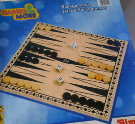 Children's backgammon