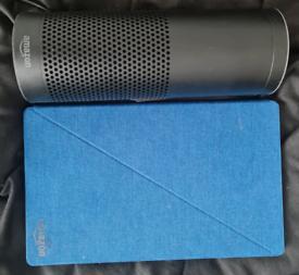 Amazon Fire HD10 tablet 7th gen + Amazon Echo 1st gen speaker