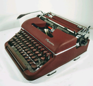 ++SOLD++ Olympia SM3 Typewriter, refurbished, cleaned,lubricated