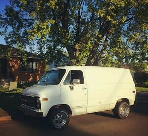 1986 chevy shorty van
