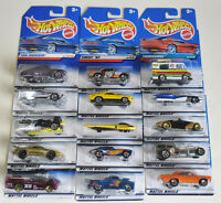 HOT WHEELS Package #2 Collection of 15 Die cast 1/64 (1997)