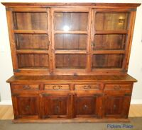 Large,Rustic Hutch / Display Cabinet