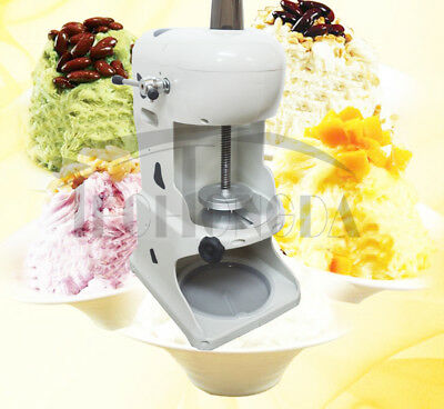 Intbuying 110v Electric Ice Crusher Shaver Machine Snow Cone Maker Shaved Ice