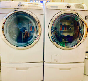 Samsung Front Loading Washer & Dryer Set