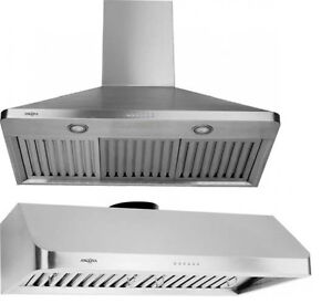 "36"" Range Hood CLEAROUT - Top of the Line BRAND NAME Range Hoods"
