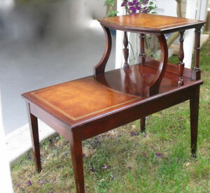 Vintage 2 step Table
