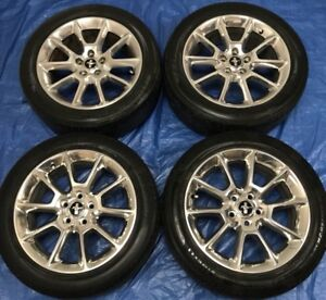 """2013 Ford Mustang 18"""" OEM Wheels & TPMS *Amazing Condition"""""""