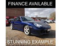 2001 Porsche 911 3.6 996 Turbo Coupe 2dr Petrol Tiptronic S AWD (339 g/km,