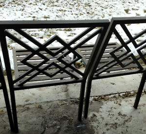 Patio Chairs - set of 4