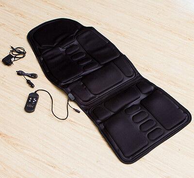 Best Back Massage Chair Heat Seat /Cushion Neck Pain Lumbar Support Pads Car