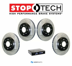 2011 G37 coupe IPL stoptech front n rear slotted rotor & Pad